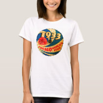 Vintage 1933 World's Fair Century Progress Ad Art T-Shirt