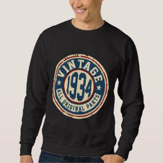 Vintage 1934 All Original Parts Pullover Sweatshirt