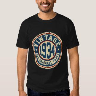 Vintage 1934 All Original Parts Shirt