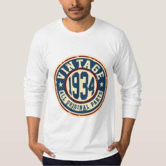 Vintage 1934 All Original Parts T Shirt