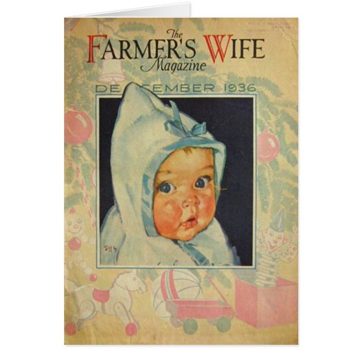 Vintage 1936 Birthday Magazine Cover Personalized Card