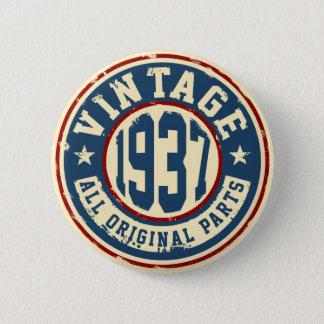 Vintage 1937 All Original Parts Button