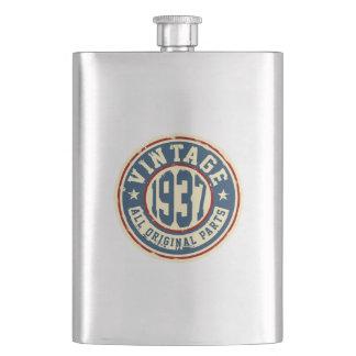 Vintage 1937 All Original Parts Flask