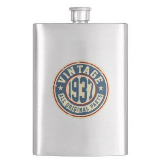 Vintage 1937 All Original Parts Flask