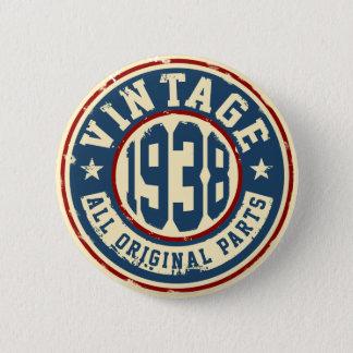 Vintage 1938 All Original Parts Button