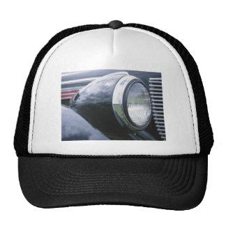 Vintage 1938 Classic Car Grill Photograph Trucker Hat
