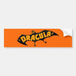 Vintage 1938 Dracula Vampire Bat Bumper Sticker