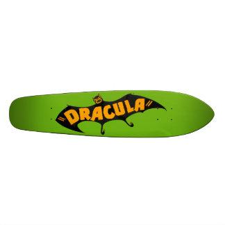 Vintage 1938 Dracula Vampire Bat Skateboard Deck