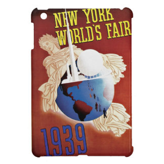 Vintage 1939 New York World fair expo advertising Cover For The iPad Mini