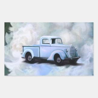 Vintage 1939 Truck Stickers