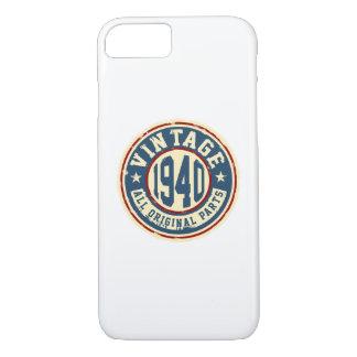 Vintage 1940 All Original Parts iPhone 7 Case