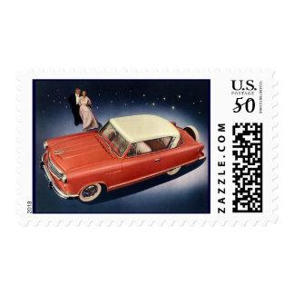 """Vintage 1940 Car Postage ~ """"Good Night, Irene!"""""""
