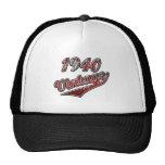 Vintage 1940 gorras de camionero