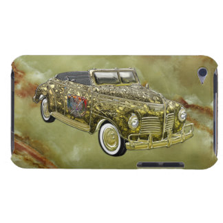 Vintage 1940 Plymouth P-10 Deluxe Custom Gold Conv iPod Touch Cover
