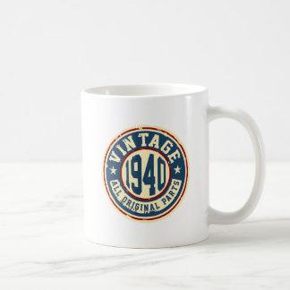 Vintage 1940 todas las piezas de la original taza clásica