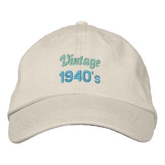 VINTAGE 1940's cap