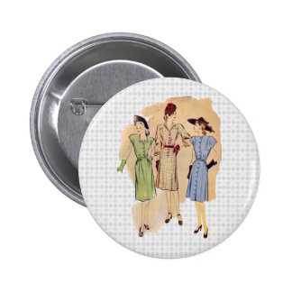Vintage 1940s Fashion Buttons