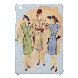 Vintage 1940s Fashion iPad Mini Cases