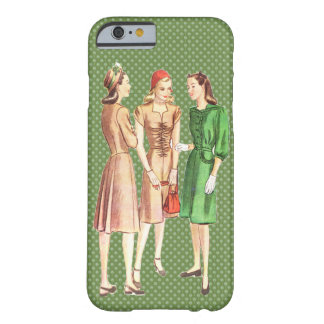 Vintage 1940s Fashion V3 Barely There iPhone 6 Case