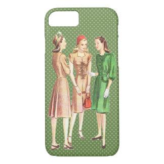 Vintage 1940s Fashion V3 iPhone 7 Case