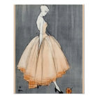 Vintage 1940s French Couture Poster