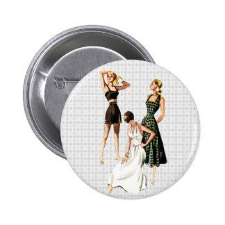 Vintage 1940s Summer Fashions Pins