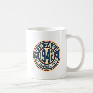 Vintage 1942 All Original Parts Coffee Mug