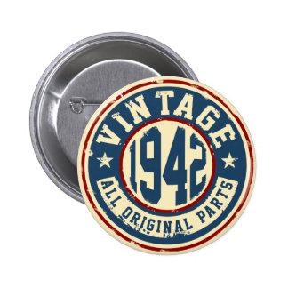 Vintage 1942 All Original Parts Pinback Button