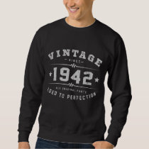 Vintage 1942 Birthday Sweatshirt
