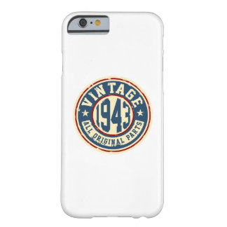 Vintage 1943 All Original Parts Barely There iPhone 6 Case