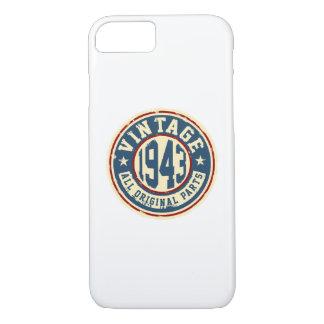 Vintage 1943 All Original Parts iPhone 8/7 Case
