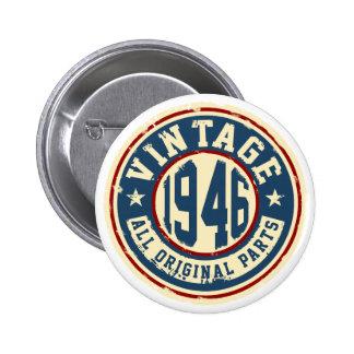 Vintage 1946 All Original Parts Button