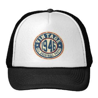 Vintage 1946 All Original Parts Trucker Hat