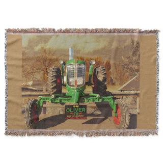 Vintage 1946 Oliver 70 Cozy Throw Blanket