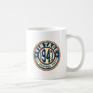 Vintage 1947 All Original Parts Coffee Mug