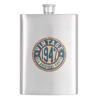Vintage 1947 All Original Parts Flask