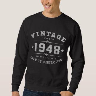 Vintage 1948 Birthday Sweatshirt