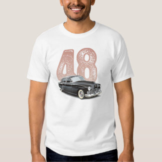 Vintage 1948 Cadillac Coupe: Black classic car T-shirt