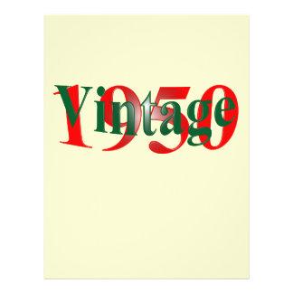 "Vintage 1950 8.5"" x 11"" flyer"