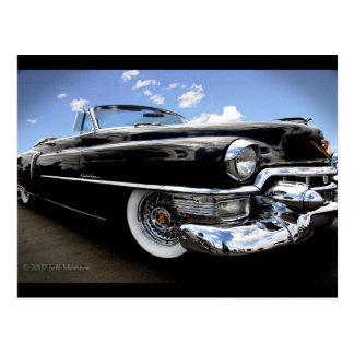 """Vintage 1950 Cadillac """"Rag Top"""" Postcard"""