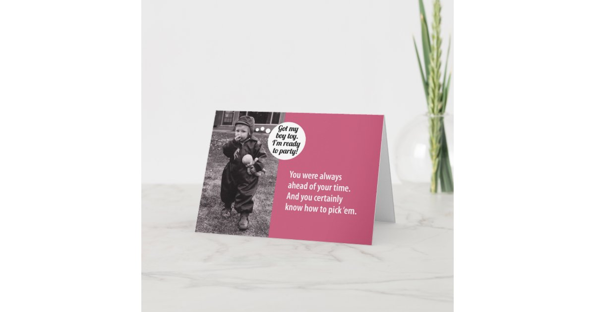 Vintage 1950s Birthday Gift Card Holder For Her Zazzle