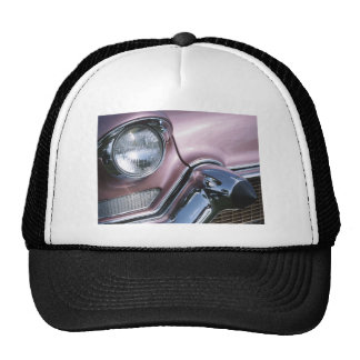 Vintage 1950s Chrome Car Grill Photograph Trucker Hat