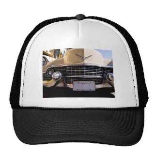 Vintage 1950s Classic Caddy Grill Photograph Trucker Hat