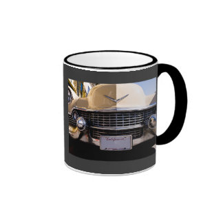 Vintage 1950s Classic Caddy Grill Photograph Mug