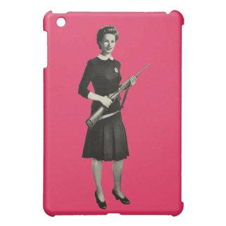 Vintage 1950s Gun Gal Rifle Apple iPad Mini Case