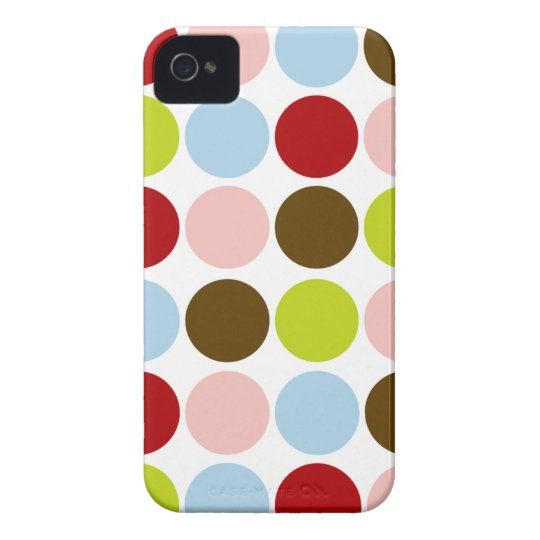 Vintage 1950s Mod Dots BlackBerry Bold Cover