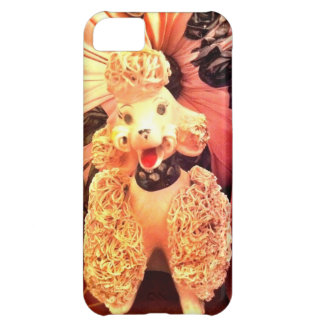 Vintage 1950s Pink Poodle Dog iPhone Case Retro iPhone 5C Covers