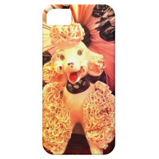 Vintage 1950s Pink Poodle Dog iPhone Case Retro iPhone 5 Cases