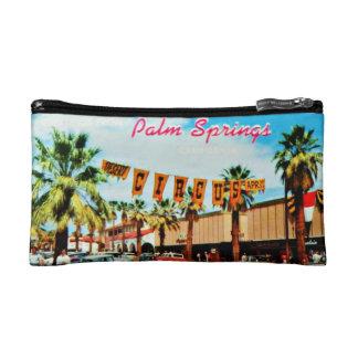 Vintage 1950s Postcard Cosmetic Bag