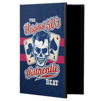 Vintage 1950s Rockabilly Skull with Aces Powis iPad Air 2 Case